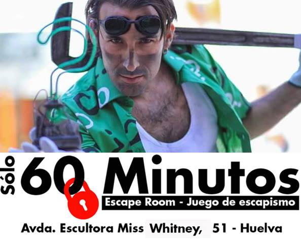 60 minutos escape room Huelva